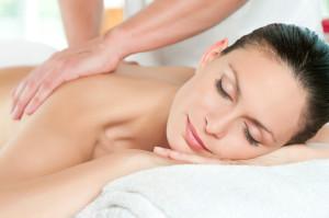 massage d'une femme