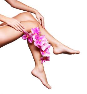 épilations femme : des jambes nettes.